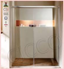 sliding glass shower door frame parts