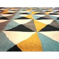 turquoise and yellow rug mustard grey