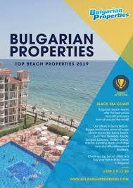 Bulgarian Properties Brochures And Catalogues Apartments