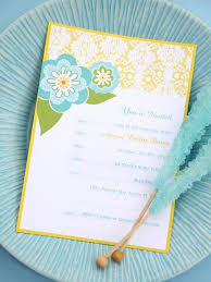 printable birthday invitations for all ages a blue green and yellow floral birthday invitation