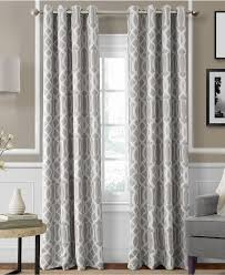 Macys Curtains For Living Room Elrene Harper Blackout Grommet Panel Collection Macys