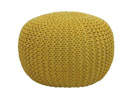 Knitted Pouf Nz
