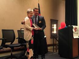 harris receives home care award the wilson times