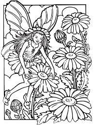 Printable Fairies Coloring Pages For Adults Color Bros