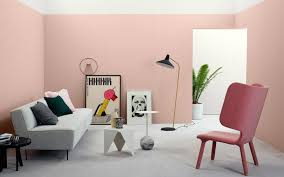 pink wall paint2017 Color Trends For Your Home Interior According To Paint