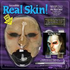 real skin makeup kit foam latex vire prosthetic mask