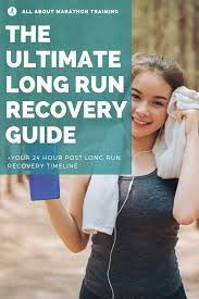 long distance running recovery plan