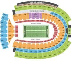 Abiding Ohio State University Football Stadium Seating Chart