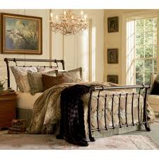 Legion Iron Bed in Ancient Gold | Humble Abode