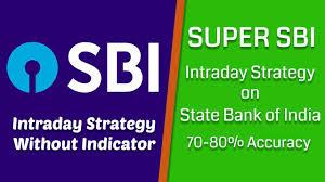 Super Sbi Intraday Strategy On Sbi Sbin Financeorigin
