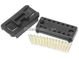 porsche genuine porsche wiring harness connector for engine 14 porsche wiring harness connector for engine 14 pin male connector pins genuine