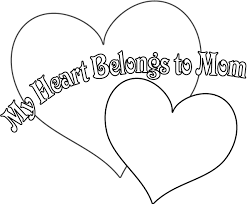 Small Picture Hearts That You Can Print print love heart coloring pages