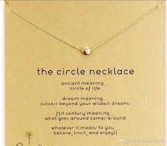 cute dogeared necklace with little