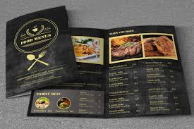 free food menu templates 50 best food drink menu templates design shack