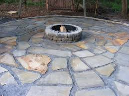 wonderful flagstone fire pit how to make a diy snapguide