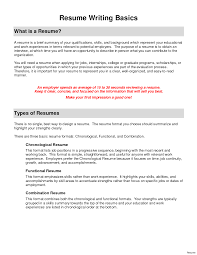 Functional Resume Example Functional Resume Examples Resume For