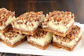 pecan pie cheesecake bars. Beautiful Pecan Incredibly Delicious Pecan Pie Cheesecake Bars Are The Perfect Recipe For  Your Holiday Dessert Table And
