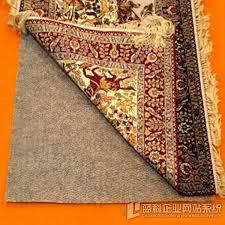 anti slip rug pad carpet backing