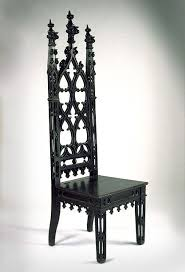 i like the black design of this dining room chair particularly in its detailed shapes