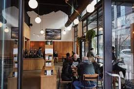 Match the phrases to get the sentences. Best Coffee Shops In Portland Good Places To Work Meet Eat More Thrillist