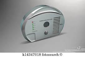 一酸化炭素 警報 イラスト K14235329 Fotosearch