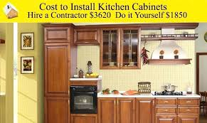 cost to install kitchen cabinets average cost to install kitchen cabinets fresh brilliant how much to