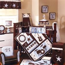 colorful baby boy nursery interior design rock and roll baby bedding set for the elvis