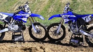 yamaha 125 dirt bike for sale. 2016 yamaha yz 125 \u0026 yz250 2 strokes head to - dirt bike magazine youtube for sale p