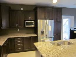 Kitchens With Granite Countertops dark oak cabinets with light granite countertops leggo kitchens 4560 by xevi.us
