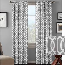 Walmart Curtains For Living Room Mainstays Chevron Curtain With Bonus Panel Set Of 2 Walmartcom