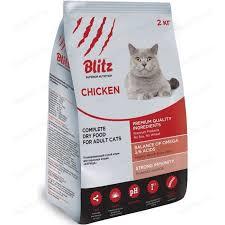 <b>сухой корм blitz petfood</b> superior nutrition adult cats with chicken с ...