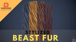 Substance Designer Beginner Stylized Fur For Beginners Tutorial Substance Designer 2019 Full Commentary