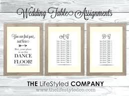 Wedding Table Assignments Or Not Creative Rustic Mbdance Org