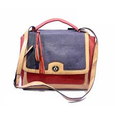 Coach Sadie Flap Medium Red Crossbody Bags DJR