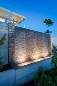 alka pool this impressive water wall acts as a water feature bringing an added elegance