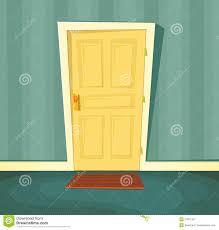 Open front door illustration Endearing Cartoon Door Abeoncliparts Cartoon Door Abeoncliparts Cliparts Vectors