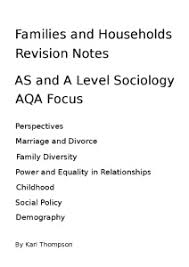 the functionalist perspective on the family revisesociology sociology revision notes
