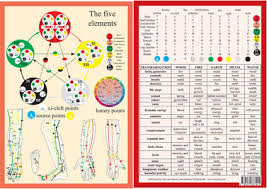 Chinese Medicine 5 Elements Chart Catalogue Baarle Com Uk