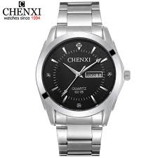 online buy whole aliexpress watches from aliexpress aliexpress chenxi brand luxury men watches water resistant watch calendar date import quartz movement mens stainless