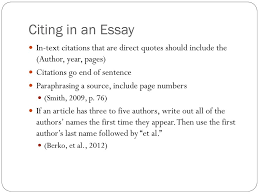 Apa Style Ppt Download