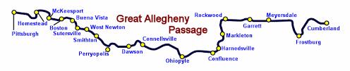 Great Allegheny Passage Boston Pa To West Newton Pa
