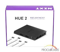 Hue 2 Lighting Controller Nzxt Hue 2 Rgb Lighting Kit And Aer Rgb 2 Fans Review Page
