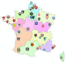 Check spelling or type a new query. Map With All The Teams From The Ligue 1 And 2 For The 20 21 Season Of Football Mapporn