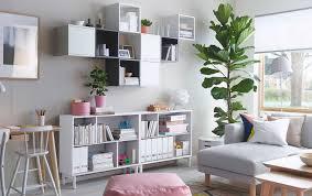 ikea living room shelving units