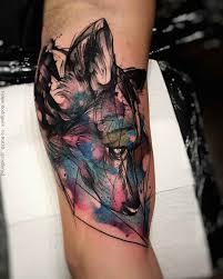 стиль татуировки Sketch примеры работ мастера стиля техника