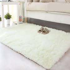 white fluffy carpet. shaggy-fluffy-rugs-anti-skid-area-rug-dining- white fluffy carpet
