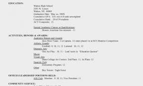 Resume Examples Templates Best 15 College Application Resume College
