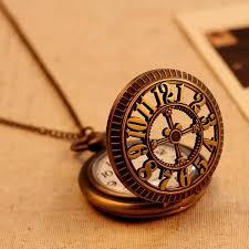 2016 new bronze vintage pocket watch men women unisex necklace 2016 new bronze vintage pocket watch men women unisex necklace quartz long chain hollow big numbers best gift pocket watch s pocket watch
