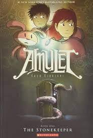 The Stonekeeper (Amulet #1) (1): Kibuishi, Kazu, Kibuishi, Kazu:  0000439846811: Amazon.com: Books