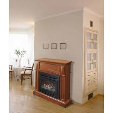 pleasant hearth vff compact heritage vent free fireplace gas system btus com eco with mantle high efficiency inserts insert log burner wood stove heater